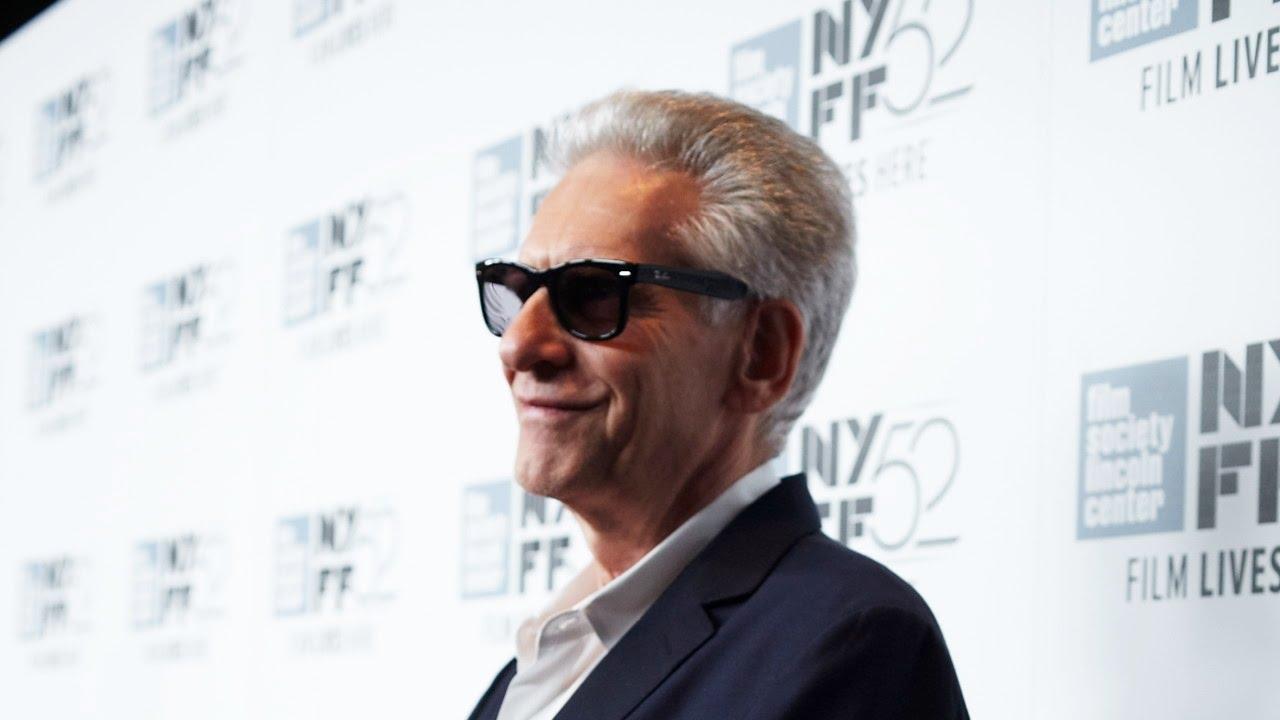 "NYFF52 ""Maps To The Stars"" Red Carpet | David Cronenberg"