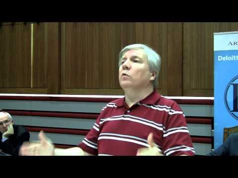 UCD God debate 2/8 - Michael Nugent on why we believe things to be true
