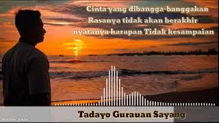 SNAP STORY WA 30 detik Tadayo gurauan sayang