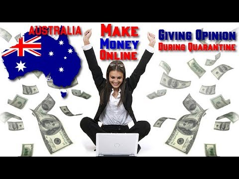 Make Money Online in Australia Giving Opinion During Quarantine Legit Paid Survey Jobs Sites 2020