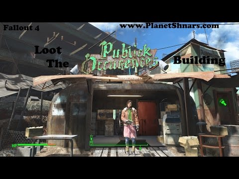 Loot the Publick Occurrences Building - Fallout 4