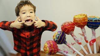 Lolli Pop Finger Family Song with Rua   Nursery Rhyme Song for kids - VoiVoi TV