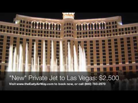 Private Jet To Las Vegas  2500 From Los Angeles  YouTube