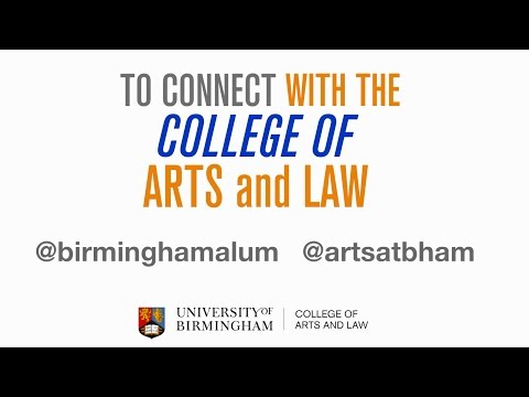 Explore the College of Arts and Law - Alumni
