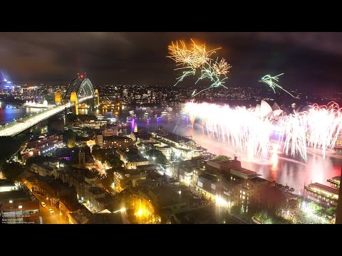 Australia Day 2018 Celebrations & Fireworks - Live From Sydn