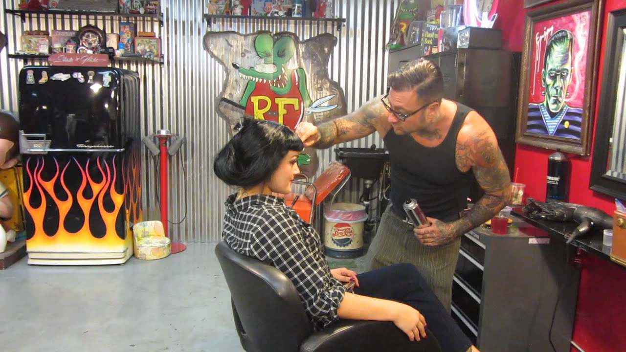 Seth 39 s chop shop shoot hairdo youtube for 10th street salon