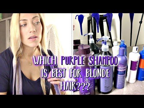 Purple Shampoo Which Purple Shampoo Is The Best Youtube