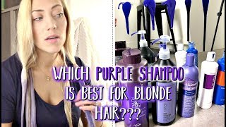 PURPLE SHAMPOO || Which Purple Shampoo is the BEST?? 🤷