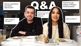 DOES FERN GET JEALOUS OF RAMIRO AND EVIS BOND??  UPDATED Q&A!!!!!