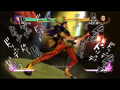 JoJo`s Bizarre Adventure All Star Battle All HHA/GHA and Throws: Otoishi Akira
