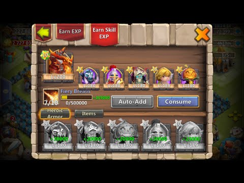 Dropping 15000 Might For Guild Wars Consuming Awesome Heroes Castle Clash
