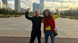 ЗВЁЗДЫ СОГРЕВАЮТ ЗЕМЛЮ! Дмитрий Харатьян-народный артист России в небе Казахстана!