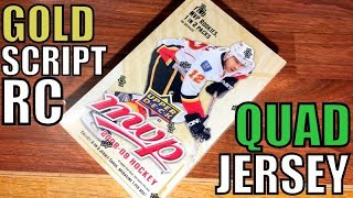 08/09 Upper Deck MVP Hockey Hobby Box Break