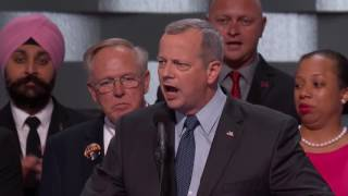 General John Allen at DNC 2016 by : Democratic National Convention