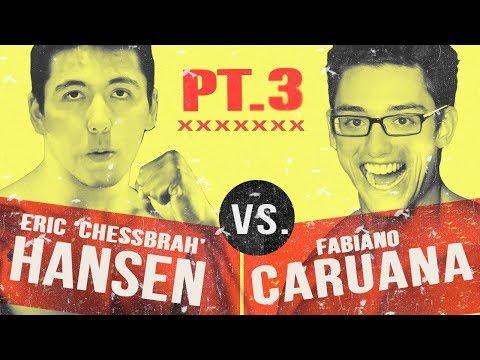 ERIC HANSEN VS FABIANO CARUANA Blitz Marathon: Part 3