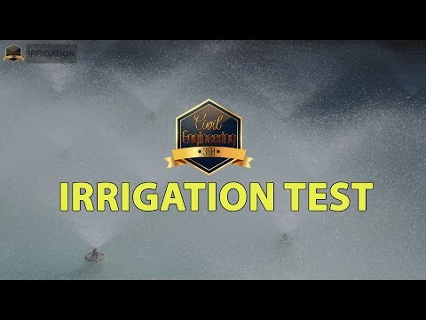 39 questions of Irrigation knowledge in Civil Engineering