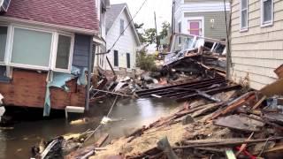 Hurricane Sandy Aftermath-Mantoloking NJ