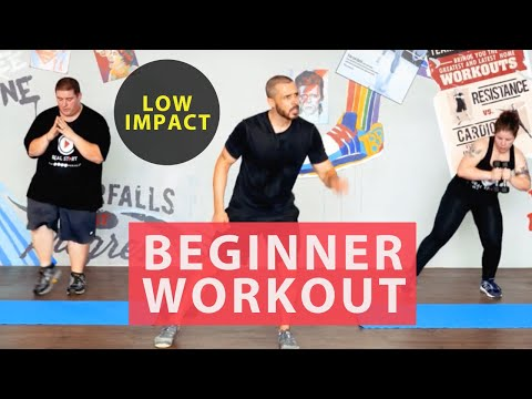 30 Minute Fat Burning Home Workout For Beginners Achievable Low Impact Results Youtube