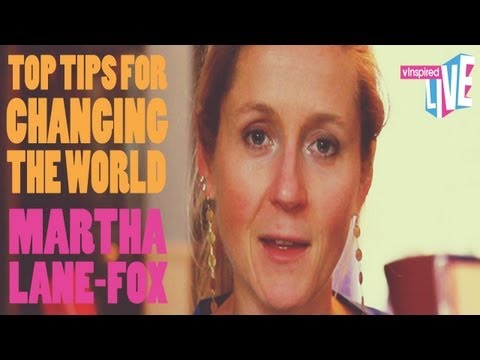 vInspired Live: Martha Lane Fox - Top Tips For Changing The World