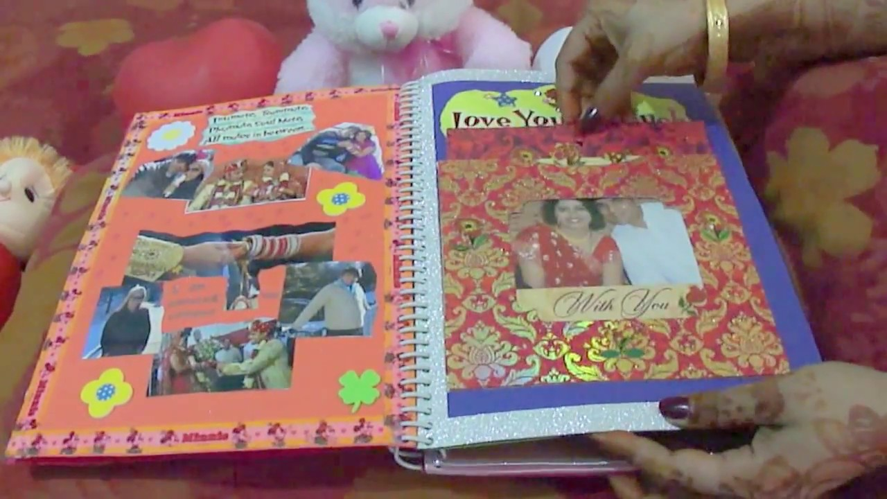 How to make scrapbook for husband - Scrapbook For My Husband