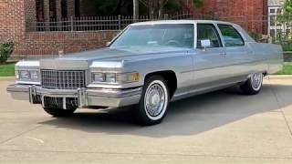 1976 Cadillac Fleetwood Brougham For Sale