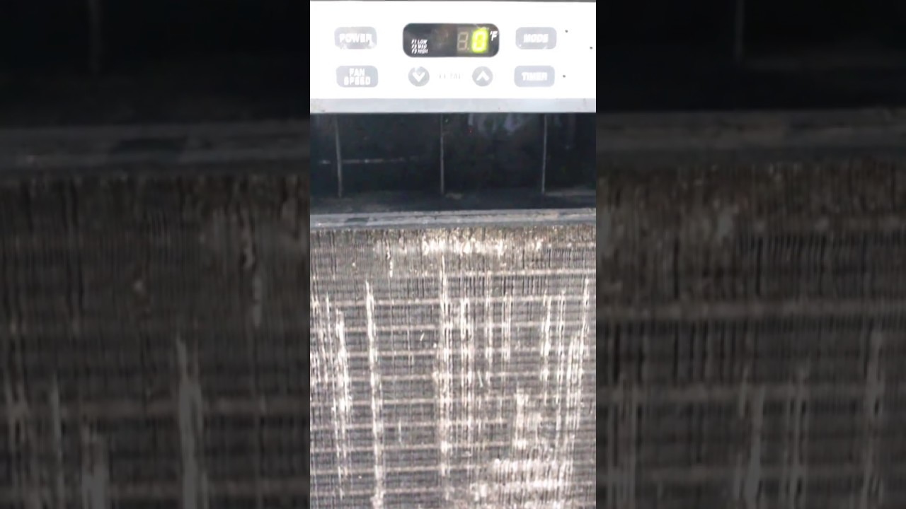lg window air conditioner spitting water u0026 scraping sound help
