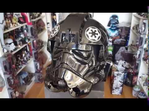Star Wars ANOVOS  Tie pilot helmet standard line REVIEW