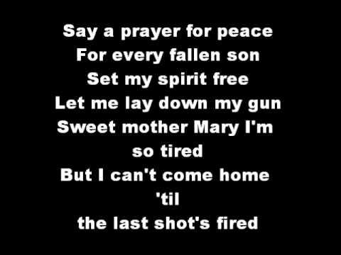 Til The Last Shot's Fired ~lyrics~ By Trace Adkins