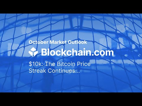 Blockchain.com Crypto Market Outlook - October 2020