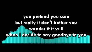 NF Falling Apart Lyrics Video