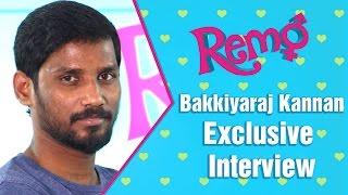 Keerthy Suresh was never a choice for Remo   Director Bakkiyaraj Kannan   Exclusive Interview