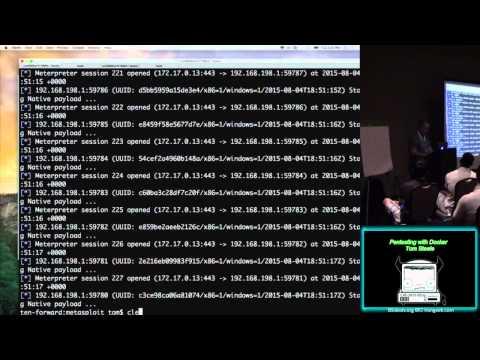 CG01 Pentesting with Docker Tom Steele