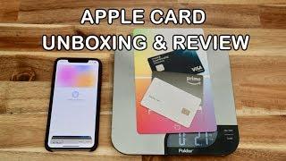 Apple Card Unboxing & Comparison Review