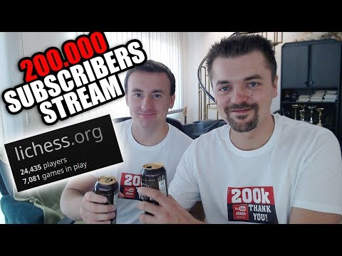 agadmator's $1000 Lichess Arena | Thank You for 200000 Subscribers! - lichess
