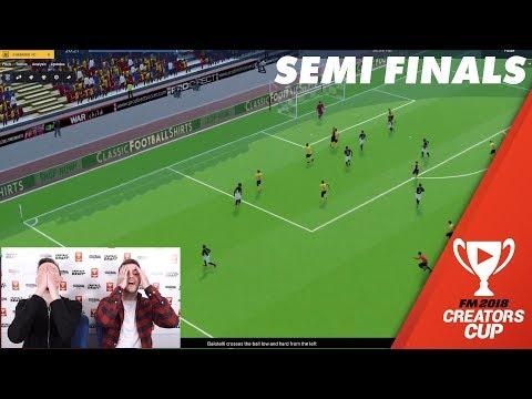 Semi Final Highlights | Creators Cup Football Manager 2018 Fantasy Draft Cup