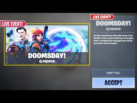 *NEW* FORTNITE DOOMSDAY EVENT! SEASON 3 UPDATE OUT NOW! (Fortnite Update V12.60!)