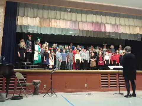 Topeka Collegiate School Choir led by Kay Seibert
