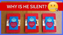 WHY IS HE SILENT? 🤐❤️ *Pick A Card* Love Relationship Tarot Reading Timeless
