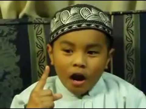video lucu anak kecil ceramah