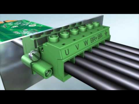 Pluggable Power PCB connectors up to 115 Amps - Phoenix Contact