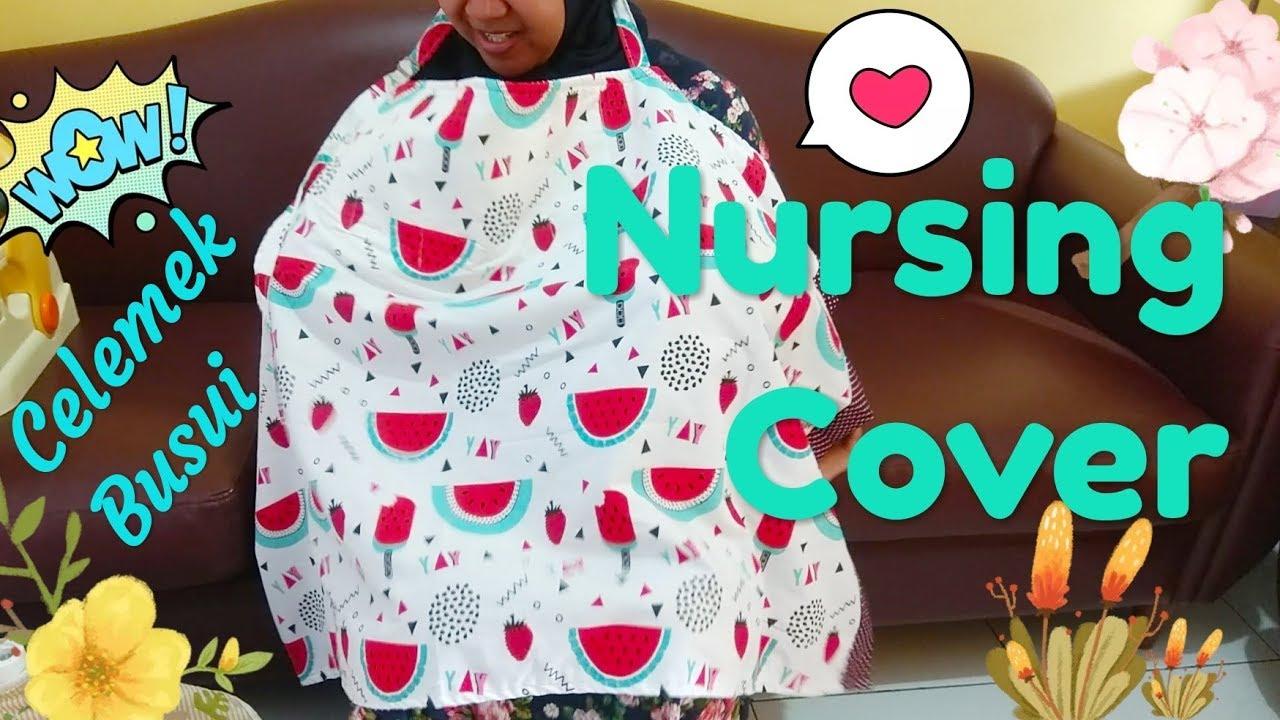 Nursing Cover Cara Menjahit Celemek Busui Multifungsi Youtube Bahan Jean