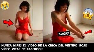 video de la Chica del Vestido Rojo video Viral de facebook es muy Extraño