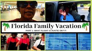 Florida Family Vacation Part 1 | Florida Vacation Vlog