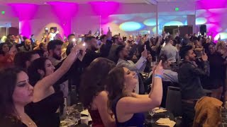 حفلات أمريكا 2020: لحظة دخول سيف نبيل - ليلة ورى ليلة / Saif Nabeel - Lela Wara Leila