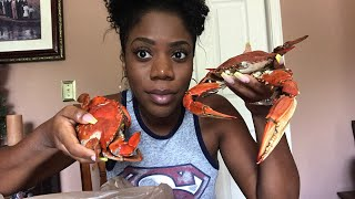 Blue Crab 🦀Mukbang