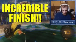 I AM SO COMPLETELY ERECT RIGHT NOW (Rocket League w/GoldGlove and The Child)