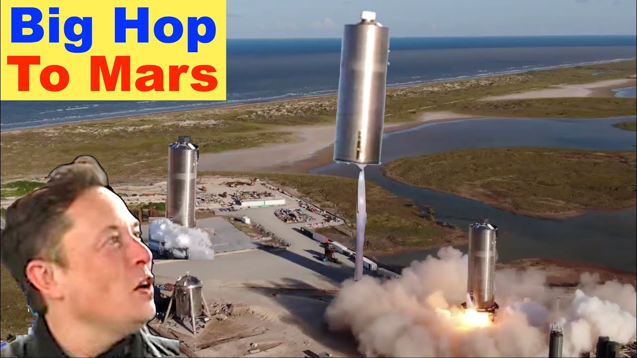 SpaceX Starship Hop to Mars - To Infinity and Beyond!