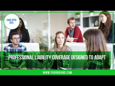 Video Ad Template for Insurance Broker