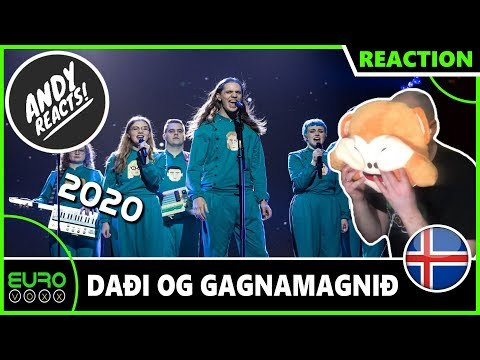 ICELAND EUROVISION 2020 REACTION: Daði og Gagnamagnið – Think About Things | ANDY REACTS!