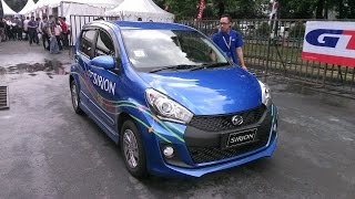 TEST DRIVE DAIHATSU NEW SIRION AIRBAG 2015 | SLALOM | NEW SIRION BLUE ELECTRIC COLOUR